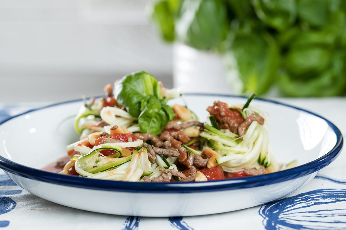 Low-Carb-Courgettini Die besten Low Carb Rezepte ohne Kohlenhydrate